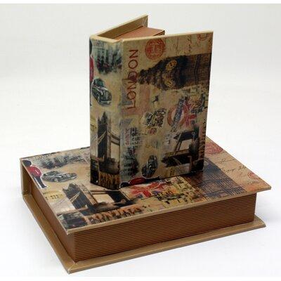 House Additions Manihiki2 Piece Book Box Set