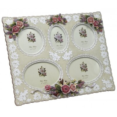 House Additions Aperture Roses and Lace Picture Frame