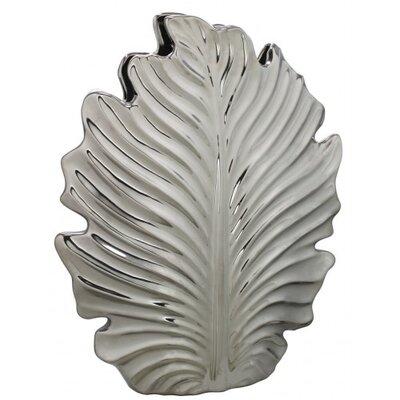 House Additions Leaf Vase