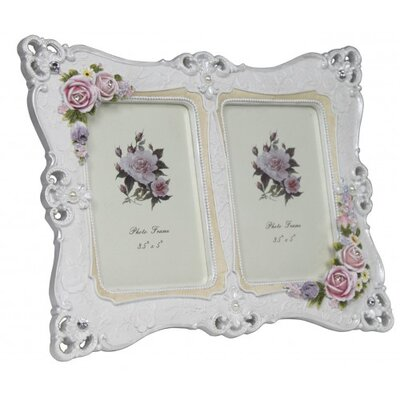 House Additions Aperture Roses and Pearl Picture Frame