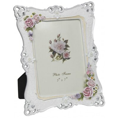 House Additions Floral Photo Frame