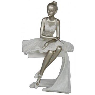 House Additions Sitting Ballerina Figurine