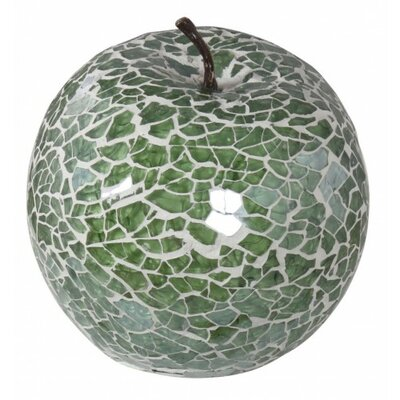 House Additions Mosaic Apple Sculpture