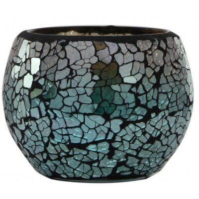 House Additions Mosaic Glass Candle Holder