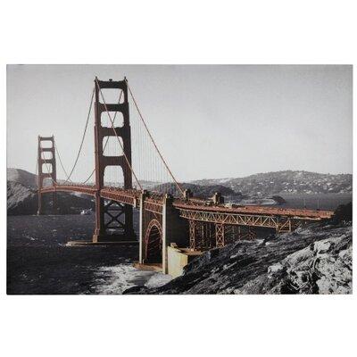House Additions Golden Gate Bridge Graphic Art on Canvas