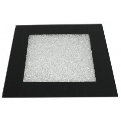 House Additions Moon Dust Glass Candle Plate