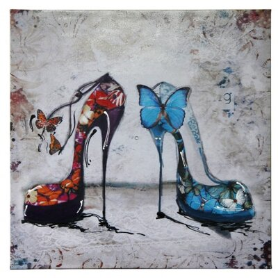 House Additions Shoes Art Print on Canvas