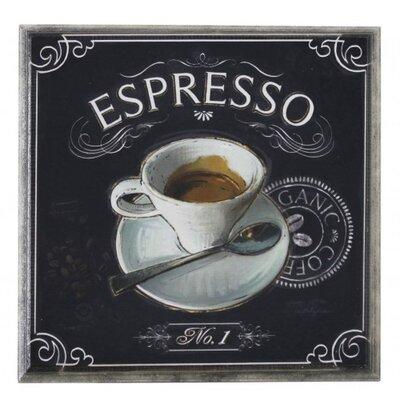 House Additions Espresso Vintage Advertisement Plaque