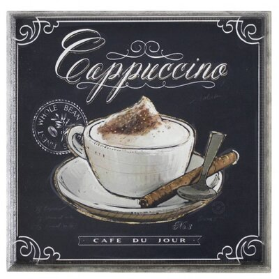 House Additions Cappuccino Vintage Advertisement Plaque