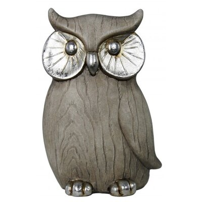 House Additions Owl Ornament Figurine