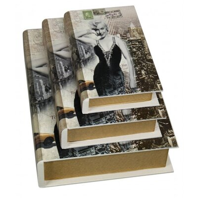House Additions Marilyn Monroe 3 Piece Book Box Set
