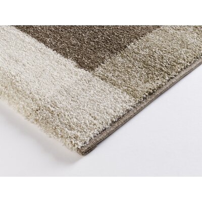 House Additions Hand-Woven Beige/Brown Area Rug