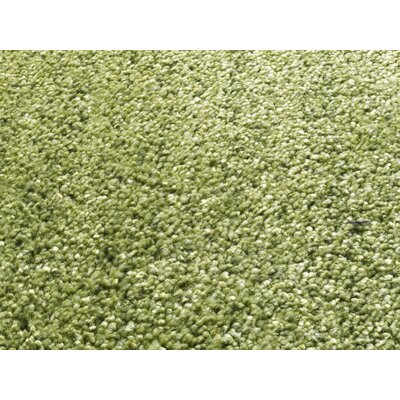 House Additions Hand-Woven Green Area Rug