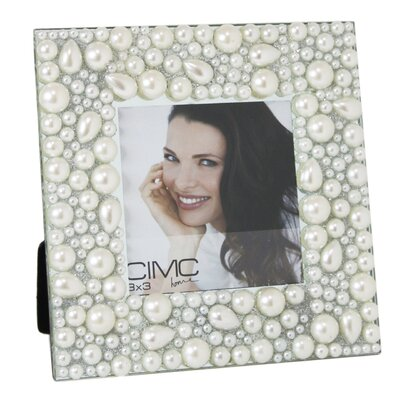 House Additions Pearl Border Photo Frame