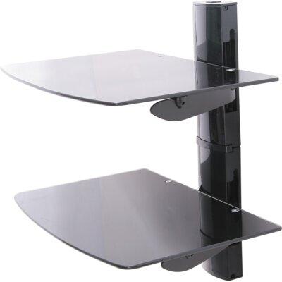 House Additions Double Glass Shelf