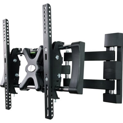 "House Additions Full Motion Double Arm Tilt Wall Mount for 50"" Flat Panel Screens"