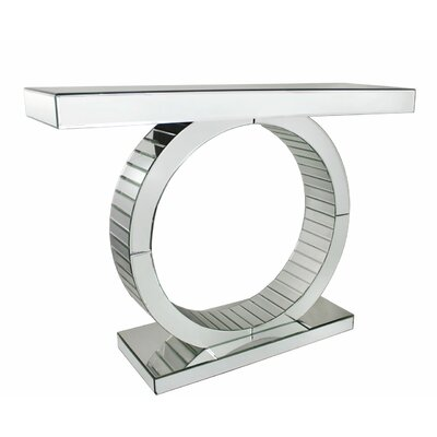 House Additions Mirror Console Table