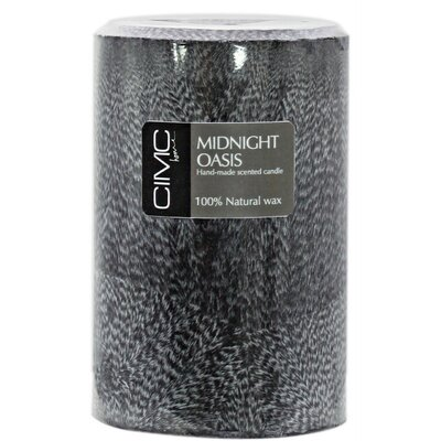 House Additions Midnight Oasis Pillar Candle