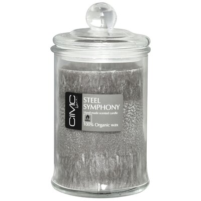 House Additions Steel Symphony Jar Candle
