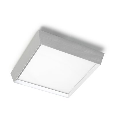 House Additions Prisma 3 Light Flush Ceiling Light