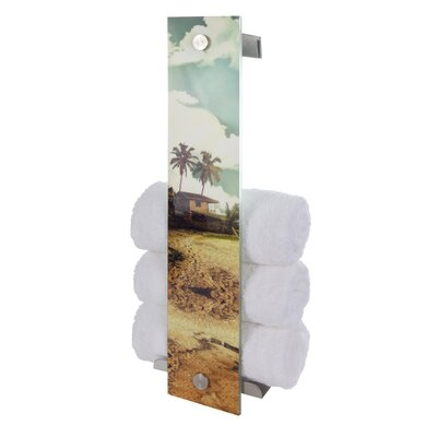 House Additions Wall Mounted Towel Rack
