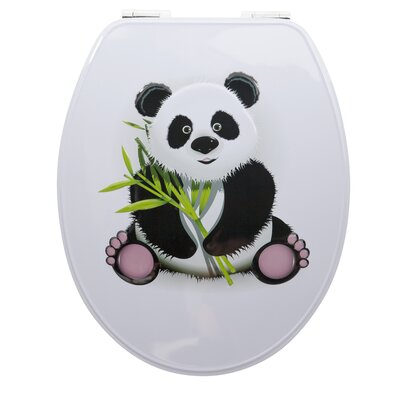 House Additions Metal Panda Elongated Toilet Seat