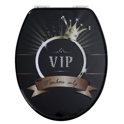House Additions Metal VIP Elongated Toilet Seat