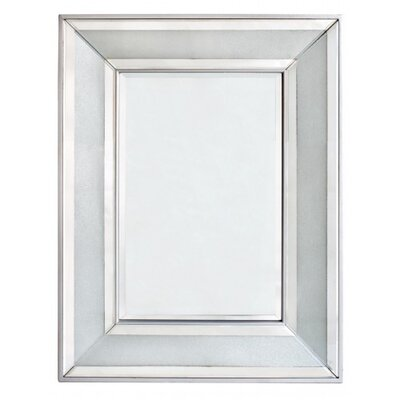 House Additions Diamond Crush Wall Mirror
