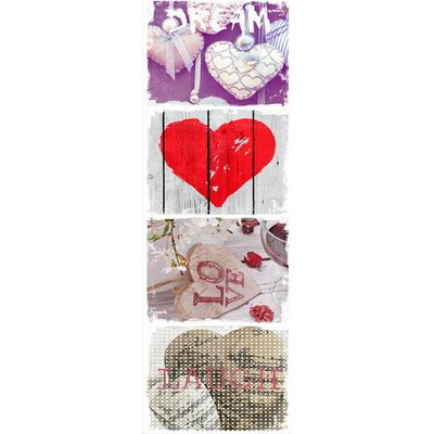 House Additions Coeur Love Wall Decor
