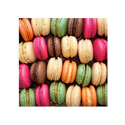 House Additions Macarons Colours Wall Decor