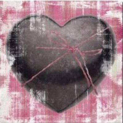 House Additions Pink Coeur Wall Decor