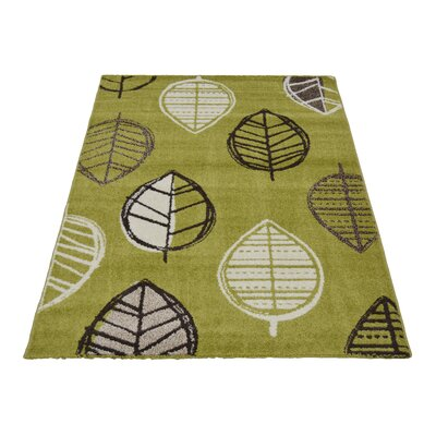 House Additions Claremont Green Area Rug