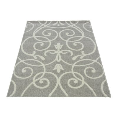 House Additions Claremont Silver Area Rug