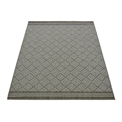 House Additions Plano Grey Area Rug