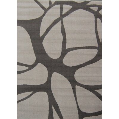 House Additions Grey Line Area Rug