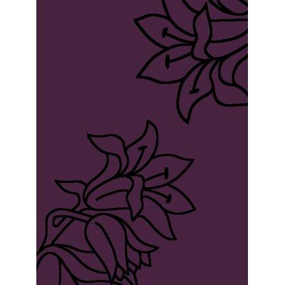 House Additions Purple Area Rug