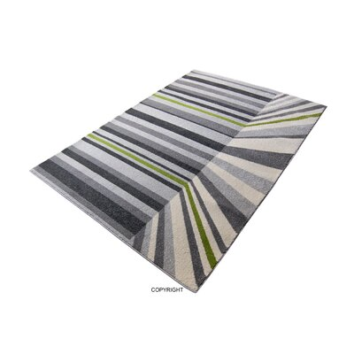 House Additions Hours Grey Area Rug