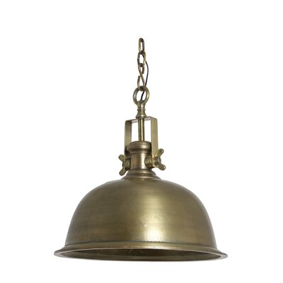 House Additions Kasplya 1 Light Bowl Pendant