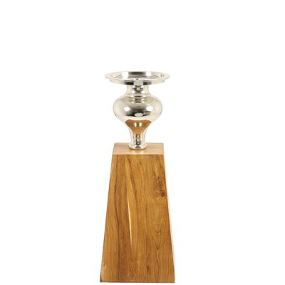 House Additions Lupo Wood Candle Holder