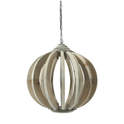 House Additions Nonce 1 Light Globe Pendant