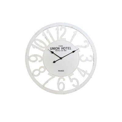House Additions Oversized 80cm Narva Lake Peipsi Wall Clock