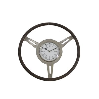 House Additions 46cm Vorozeh Leather Wall Clock