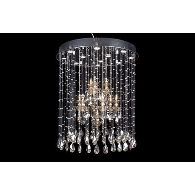 House Additions Regent 10 Light Crystal Pendant