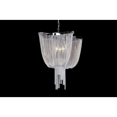 House Additions Borough 4 Light Mini Pendant