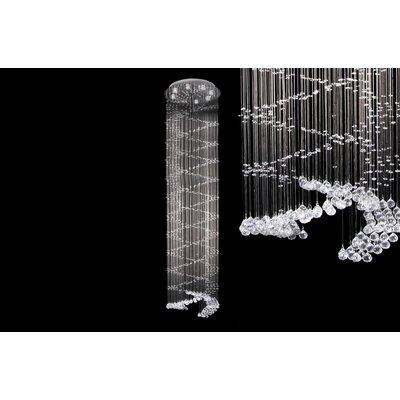 House Additions Regent 8 Light Crystal Pendant