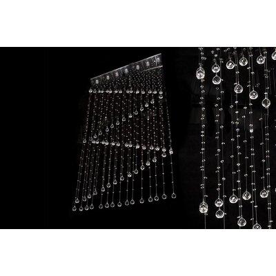 House Additions Regent 7 Light Crystal Pendant