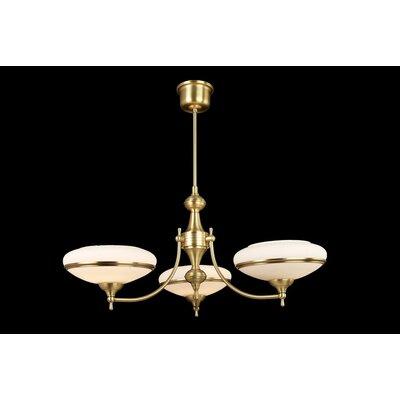 House Additions Prestige 3 Light Crystal chandelier
