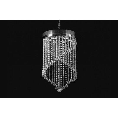 House Additions Regent 6 Light Crystal Pendant