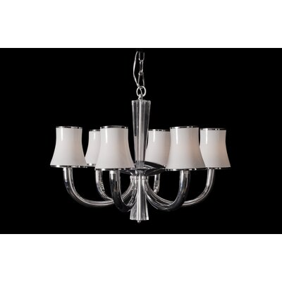 House Additions Intense 6 Light Chandelier