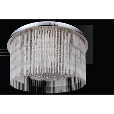 House Additions Marston 21 Light Flush Mount Ceiling Light